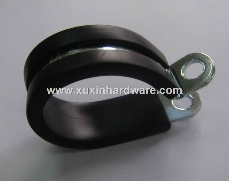 stainless steel Hose clamp with rubber