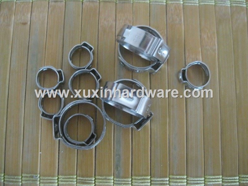 EAR DIMPLE HOSE CLAMP