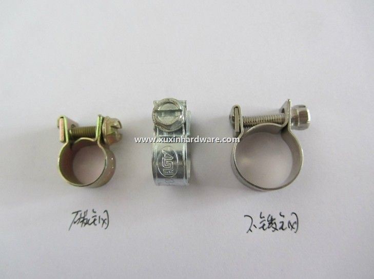 MINI heavy duty unitary bolt hose clamp