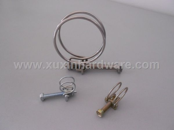 Stainless steel galvanized metal clamps clips
