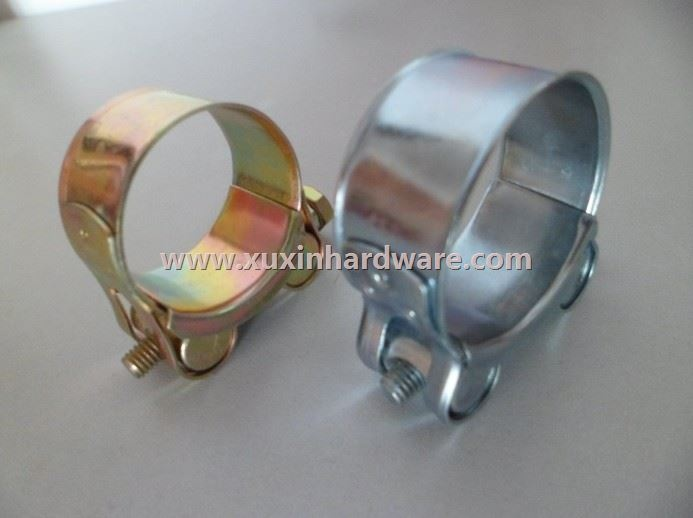 high quality hose clamp pipe clips (galvernized iron )