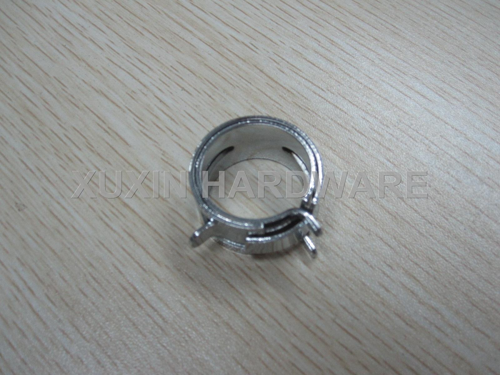 constant tension spring band hose clamp