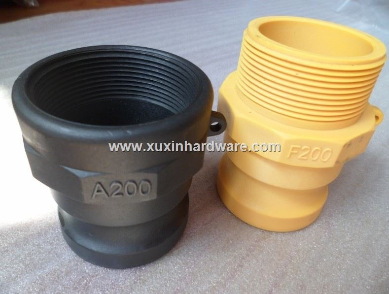 quick coupling for hose pipes