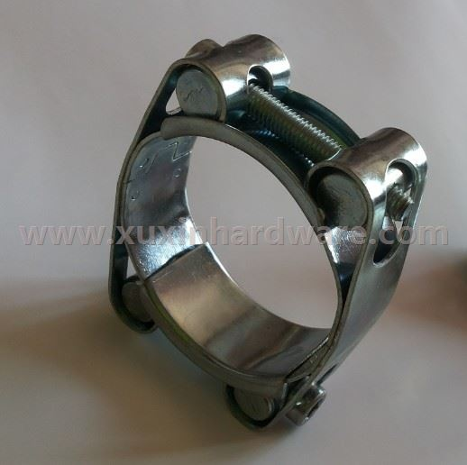 high torque and heavy duty hose clamp T type