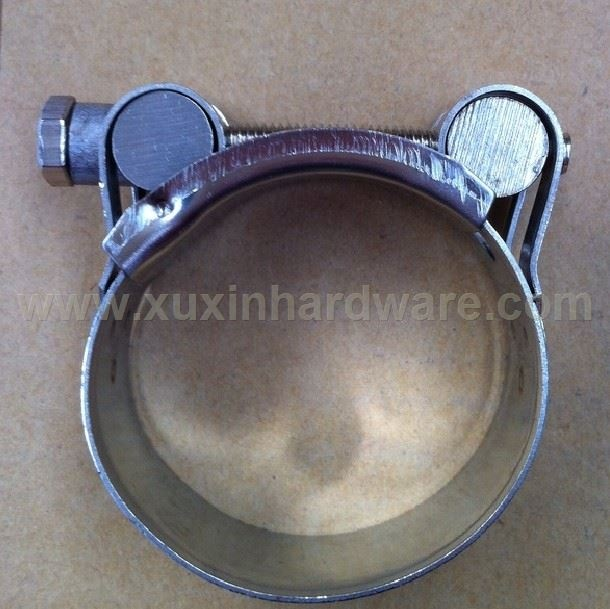 SUPER SINGLE BOLT HOSE PIPING CLAMP