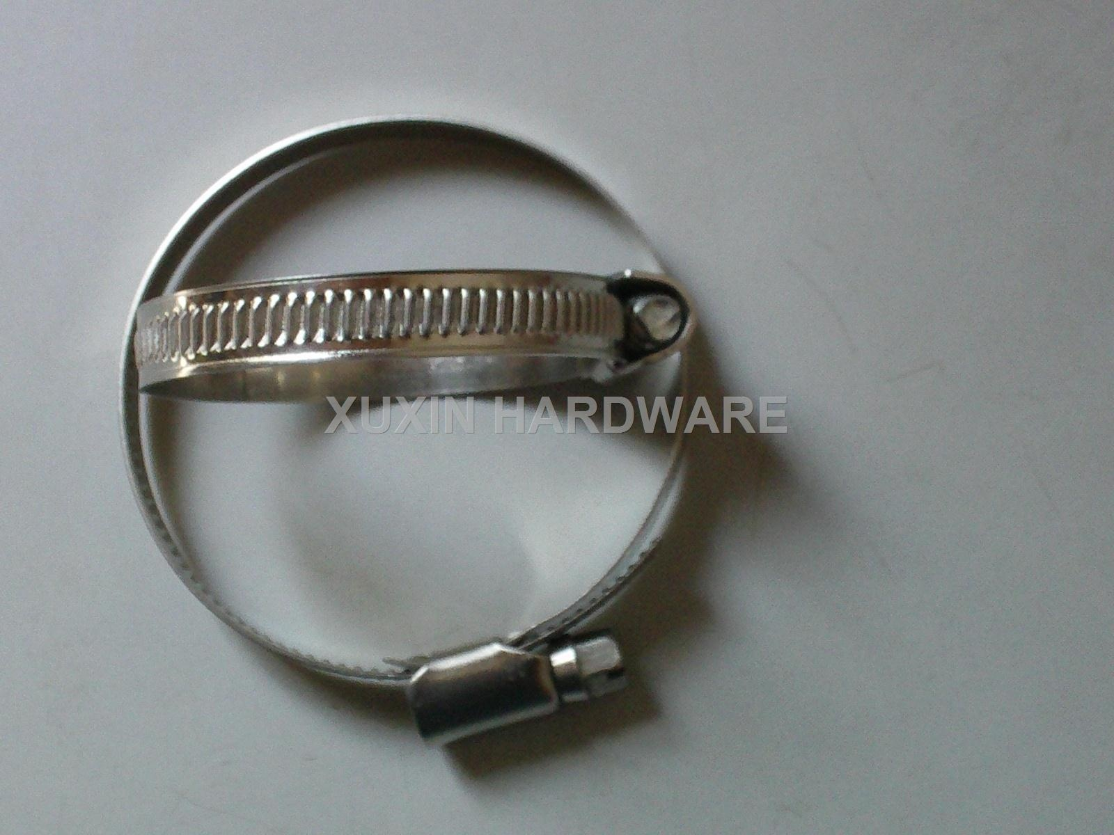 German  type screw band worm driver hose clamp ,pipe clip