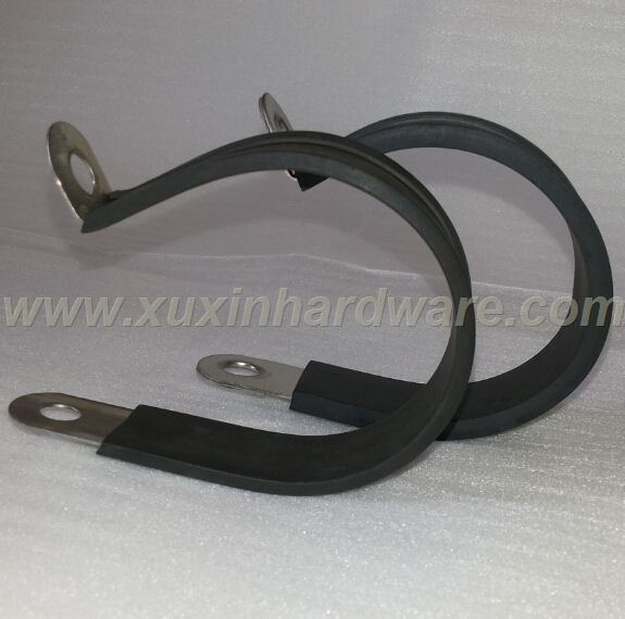 METAL CLAMPS CLIPS USED FOR HOSE PIPES CABLES FIXING