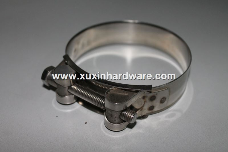 stainless steel unitary solid hose clamp