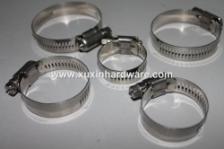 stainless steel zinc-plated steel Amerian pipe clamp