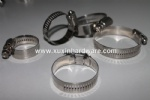 300 series stainless steel 12.7mm band American type automotve hose clamp clips