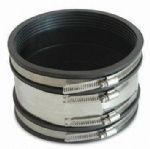 Heavy duty flexible coupling corrosion resistant