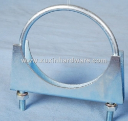 U bolt hose clamp