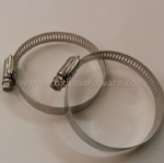 stainless  steel American type mini hose clamp