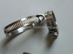 W1 German type hose clamps, pipe clips , tube clamps