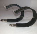 METAL CLAMPS CLIPS WITH EPDM/RUBBER CUSHION