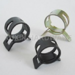 spring metal hose clamp, pipe clip