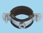 heavy duty hose clamp pipe clips with rubber